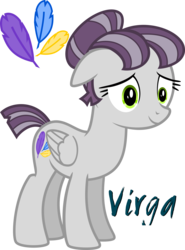 Size: 3000x4048 | Tagged: artist:stormy_weather, cutie mark, female, mare, oc, oc:virga, pegasus, pony, reference sheet, safe, short tail, tails of equestria