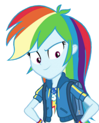 Size: 639x800 | Tagged: safe, edit, edited screencap, editor:ilove-mlp18, screencap, rainbow dash, equestria girls, equestria girls series, run to break free, spoiler:eqg series (season 2), background removed, cropped, cute, dashabetes, female, geode of super speed, magical geodes, simple background, solo, transparent background