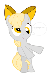 Size: 3237x4942 | Tagged: adorkable, apple bloom, cute, derp, derpy hooves, dork, female, filly, pony, recolor, safe, silly, silly filly, silly pony, solo