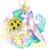 Size: 3000x3000 | Tagged: safe, artist:seishinann, princess celestia, alicorn, pony, bouquet, celestia day, female, flower, mare, praise the sun, signature, simple background, solo, sunflower, transparent background
