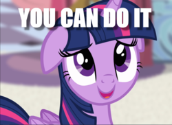 Size: 1292x939 | Tagged: alicorn, caption, cropped, edit, edited screencap, floppy ears, image macro, motivational, positive ponies, princess twilight sparkle (episode), safe, screencap, solo, text, twilight sparkle, twilight sparkle (alicorn)