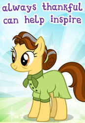 Size: 288x417 | Tagged: safe, butternut, pony, best gift ever, clothes, dress, gameloft, meme, solo, wow! glimmer