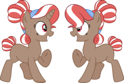 Size: 1024x686   Tagged: safe, artist:babyroxasman, oc, oc only, oc:raspberry rose, pony, unicorn, absurd resolution, female, hair bun, mare, pointing at self, simple background, smiling, solo, transparent background, vector