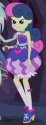 Size: 230x615 | Tagged: safe, screencap, bon bon, lyra heartstrings, sweetie drops, equestria girls, legend of everfree, bare shoulders, cropped, sleeveless, strapless