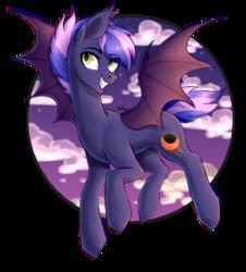 Size: 1216x1348 | Tagged: safe, artist:darlyjay, artist:shootingstaryt, oc, oc:jupiter (shootingstaryt), bat pony, pony, male, solo, stallion