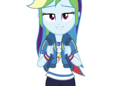 Size: 640x449 | Tagged: safe, edit, edited screencap, editor:ilove-mlp18, screencap, rainbow dash, equestria girls, equestria girls series, run to break free, spoiler:eqg series (season 2), adorasexy, background removed, beautiful, cute, dashabetes, geode of super speed, lidded eyes, looking at you, magical geodes, sexy, simple background, solo, transparent, transparent background