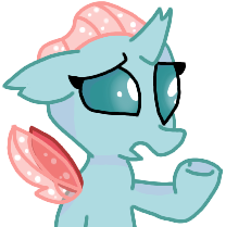 Size: 208x209 | Tagged: artist:rainbow eevee, bust, female, ocellus, picture for breezies, question, raised hoof, safe, simple background, sloppy, small, solo, spread wings, trace, transparent background, wings