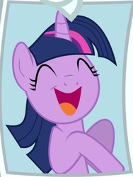 Size: 644x856 | Tagged: safe, artist:ruinedomega, twilight sparkle, pony, trade ya, adorkable, cute, dork, inkscape, needs more jpeg, picture, ponyscape, smiling, twiabetes, vector