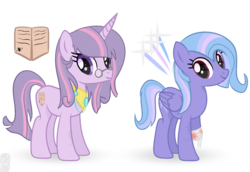 Size: 1280x880 | Tagged: artist:castelainmlp, magical lesbian spawn, oc, offspring, parent:fleur-de-lis, parents:twixie, parent:trixie, parent:twilight sparkle, safe
