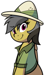 Size: 933x1572 | Tagged: safe, artist:furrgroup, daring do, pegasus, pony, cute, daring dorable, female, hat, looking at you, mare, simple background, solo, white background
