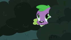 Size: 1280x720 | Tagged: bush, dog, equestria girls, friendship games, male, safe, screencap, solo, spike, spike the regular dog