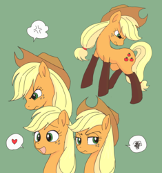 Size: 2448x2607 | Tagged: safe, artist:haibaratomoe, applejack, earth pony, pony, boots, doodle, female, fireproof boots, mare, shoes, solo