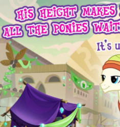 Size: 379x404 | Tagged: safe, pony, gameloft, male, meme, somnambula resident, stallion, tall, unnamed pony, wow! glimmer