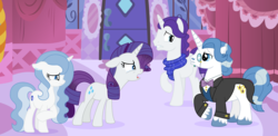 Size: 4248x2080 | Tagged: safe, artist:lucymarie2000, fancypants, rarity, pony, discussion, family, female, male, offspring, parent:fancypants, parent:rarity, parents:raripants, raripants, shipping, straight