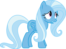 Size: 1920x1427 | Tagged: artist:mega-poneo, edit, female, fluttershy, flutterxie, fusion, mare, pegasus, pony, ponyar fusion, recolor, safe, simple background, solo, transparent background, trixie, vector, vector edit