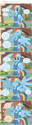 Size: 800x3079 | Tagged: anthro, artist:flash equestria photography, comic, pegasus, rainbow dash, safe, scootaloo, shipping, shocked, show accurate anthro