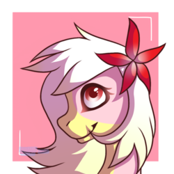 Size: 1000x1000 | Tagged: artist needed, drawing error, earth pony, flower, flower in hair, oc, oc:carmen garcía, pony, safe