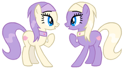 Size: 850x467 | Tagged: artist:durpy, earth pony, frou frou, frou sisters, pony, recolor, safe, spa pony, twins, vera