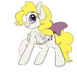 Size: 1024x976 | Tagged: safe, artist:havoxious, surprise, pony, bow, g1, g1 to g4, generation leap, simple background, solo, tail bow, transparent background
