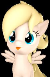 Size: 2680x4088   Tagged: safe, artist:flushthebatsanta, oc, oc:luftkrieg, pegasus, pony, 3d, aryan, aryan pony, blonde, cute, female, filly, looking, luftkriebetes, nazipone, source filmmaker, spread wings, tongue out, wings