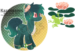 Size: 1024x719 | Tagged: artist:kazziepones, female, mare, oc, oc:lily drops, pegasus, pony, reference sheet, safe, solo