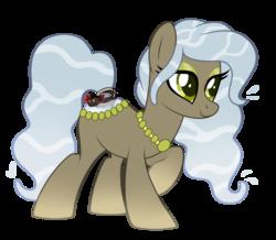 Size: 1178x1026   Tagged: safe, artist:crystal-tranquility, oc, oc:laurel flow, original species, pond pony, pony, female, mare, simple background, solo, transparent background