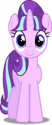 Size: 3000x7144   Tagged: safe, artist:dashiesparkle, starlight glimmer, pony, unicorn, .svg available, absurd resolution, cute, female, front view, glimmerbetes, looking at you, mare, s5 starlight, simple background, smiling, solo, transparent background, vector