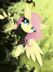 Size: 1700x2338 | Tagged: artist:pedrohander, clothes, dress, fluttershy, pegasus, pony, safe, solo