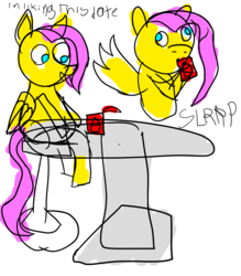 Size: 1400x1600 | Tagged: chair, date, fluttershy, food, noodles, pegasus, pony, ramen, safe, solo, table
