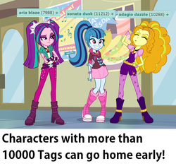 Size: 980x920 | Tagged: adagio dazzle, aria blaze, derpibooru, edit, edited screencap, equestria girls, meta, rainbow rocks, safe, screencap, sonata dusk, tags, the dazzlings