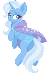 Size: 2048x3000 | Tagged: artist:cinnamontee, cute, diatrixes, female, looking back, mare, pony, safe, simple background, smiling, solo, transparent background, trixie, unicorn