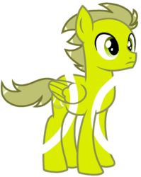 Size: 880x1106 | Tagged: safe, artist:rainbow eevee, ball pony, object pony, original species, pegasus, pony, battle for dream island, bfdi, male, ponified, simple background, solo, tennis ball, tennis ball (bfdi), transparent background