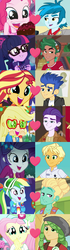 Size: 1168x4184 | Tagged: safe, artist:themexicanpunisher, applejack, dirk thistleweed, flash sentry, fluttershy, pinkie pie, ragamuffin (equestria girls), rainbow dash, rarity, sandalwood, sci-twi, sunset shimmer, thunderbass, timber spruce, twilight sparkle, zephyr breeze, accountibilibuddies, eqg summertime shorts, equestria girls, equestria girls (movie), equestria girls series, how to backstage, inclement leather, legend of everfree, overpowered (equestria girls), pet project, rainbow rocks, spring breakdown, twilight under the stars, spoiler:choose your own ending (season 2), spoiler:eqg series (season 2), accountibilibuddies: rainbow dash, appledirk, arguments on the comments, cake, camp everfree logo, camp everfree outfits, checklist in the comments, clothes, comments locked down, crack shipping, derail in the comments, discussion in the comments, female, flashimmer, food, geode of sugar bombs, geode of super speed, geode of super strength, graveyard of comments, magical geodes, male, pinkiebass, ponytail, rarimuffin, sandalshy, shipping, shipping domino, shipping war in the comments, straight, timbertwi, zephdash