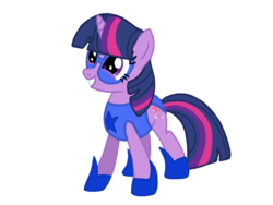 Size: 1024x768 | Tagged: artist:turnaboutart, base used, clothes, costume, female, mare, safe, twilight sparkle, unicorn
