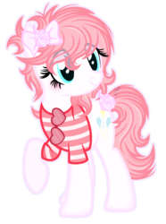 Size: 1436x1928 | Tagged: artist:101xsplattyx101, clothes, cosplay, costume, earth pony, female, mare, oc, oc:star boy blue, pinkie pie, pony, safe, shirt, simple background, solo, sunglasses, transparent background