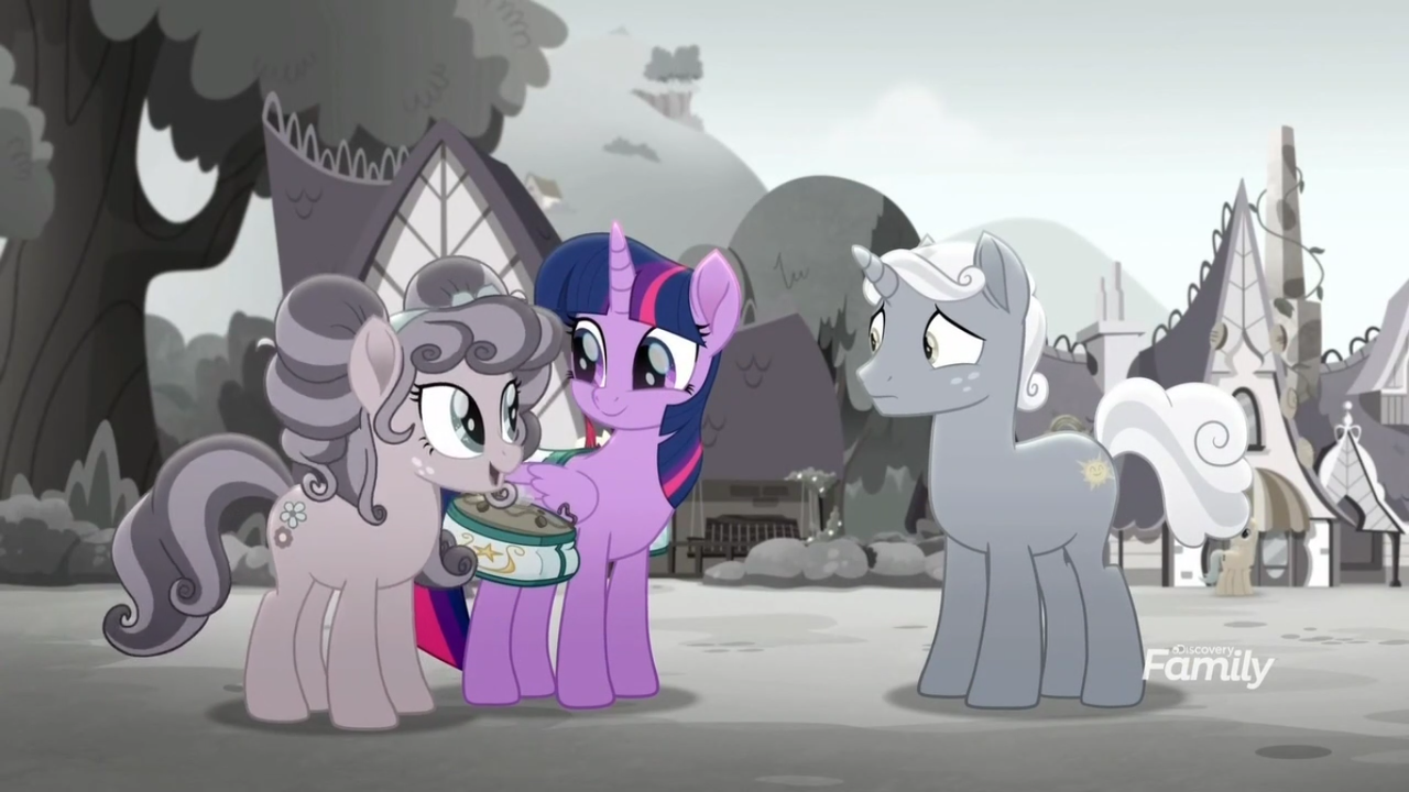 2081401 - alicorn, building, desaturated, discovery family
