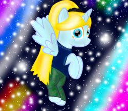 Size: 1700x1480 | Tagged: alicorn, artist:katya, female, glow, magic, oc, oc:sparkle light, pony, rainbow, safe, shine, solo