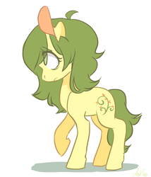 Size: 600x702   Tagged: safe, artist:laceymod, oc, oc:invidia, earth pony, pony, female, mare, simple background, solo, white background