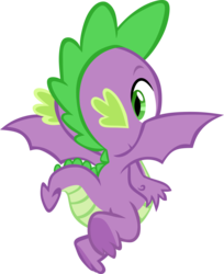 Size: 2595x3183 | Tagged: safe, artist:memnoch, spike, dragon, claws, male, simple background, solo, toes, transparent background, underfoot, vector, winged spike