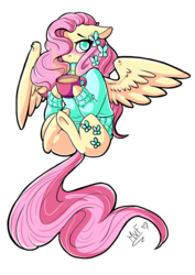 Size: 707x1000 | Tagged: safe, artist:salty-irish-potato, butterfly, earth pony, pegasus, pony, background removed, blushing, clothes, coffee, solo, sweater, underhoof