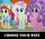 Size: 858x732 | Tagged: safe, edit, edited screencap, screencap, kerfuffle, kersplash, petunia petals, pickle barrel, torque wrench, earth pony, pegasus, pony, rainbow roadtrip, spoiler:rainbow roadtrip, amputee, atorqueable, background pony, bronybait, choose your wife, colt, cute, female, fufflebetes, male, mare, petalbetes, prosthetic leg, prosthetic limb, prosthetics, stallion, unnamed pony