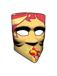 Size: 338x450 | Tagged: bauta mask, equestria girls, photo, safe, sunset shimmer