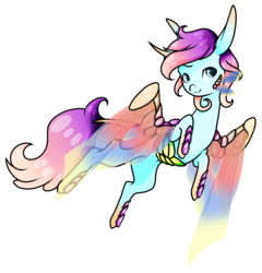 Size: 1024x1065 | Tagged: safe, artist:oneiria-fylakas, oc, oc only, oc:modeo, original species, ytar, chibi, male, simple background, solo, transparent background, transparent wings, wings