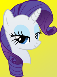 Size: 550x749 | Tagged: artist:ethalthehusky, female, pony, rarity, safe, simple background, solo, unicorn, vector