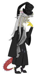 Size: 3729x7410 | Tagged: absurd res, artist:estories, black butler, clothes, cosplay, costume, discord, safe, simple background, solo, transparent background, vector