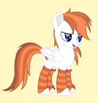 Size: 4233x4449 | Tagged: artist:mihaynoms, cute, leg warmers, new style, oc, oc:manupone, pegasus, safe