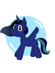 Size: 2448x3264 | Tagged: alicorn, alicorn oc, artist:volcanicdash, looking at you, oc, oc:lunar dash, safe, simple background, solo, transparent background