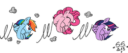 Size: 1006x422 | Tagged: alicorn, artist:scarred-spike, ball, bouncing, cropped, curled up, earth pony, eyes closed, female, happy, hilarious in hindsight, mare, meme, morph ball, motion lines, pegasus, pinkieball, pinkie pie, pony, rainball, rainbow dash, rariball, rolling, safe, simple background, spin dash, twiball, twilight sparkle, twilight sparkle (alicorn), white background