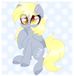 Size: 1024x1063 | Tagged: :3, artist:pidge--podge, cute, derpy hooves, pony, safe, simple background, solo, transparent mane, two toned wings, wings
