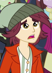 Size: 318x445 | Tagged: safe, screencap, normal norman, velvet sky, acadeca, equestria girls, friendship games, background human, cropped, male, offscreen character